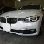 BMW 320iツーリング | BMW 320iツーリング カーフィルム シルフィード 施工