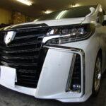 トヨタ アルファード30系  IR・UVカットフィルム シルフィード 15%を施工