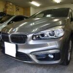 BMW 2シリーズ グランツアラー カーフィルム シルフィード 施工