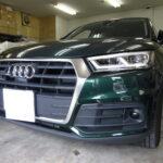 アウディ Q5 Audi 高機能断熱カーフィルム施工 IKC シルフィード